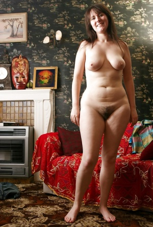 Hairy mature clothed moms