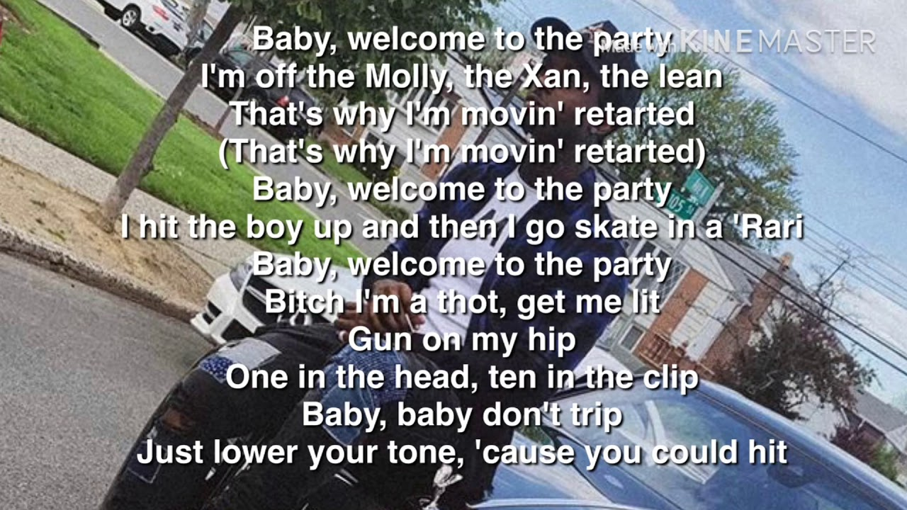 Welcome to the party lyrics