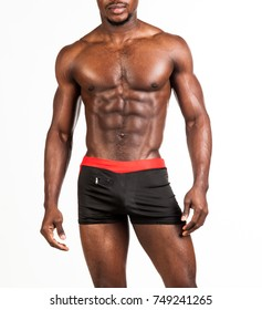 Black mens naked with abs