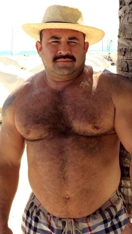 Hairy gay mexican