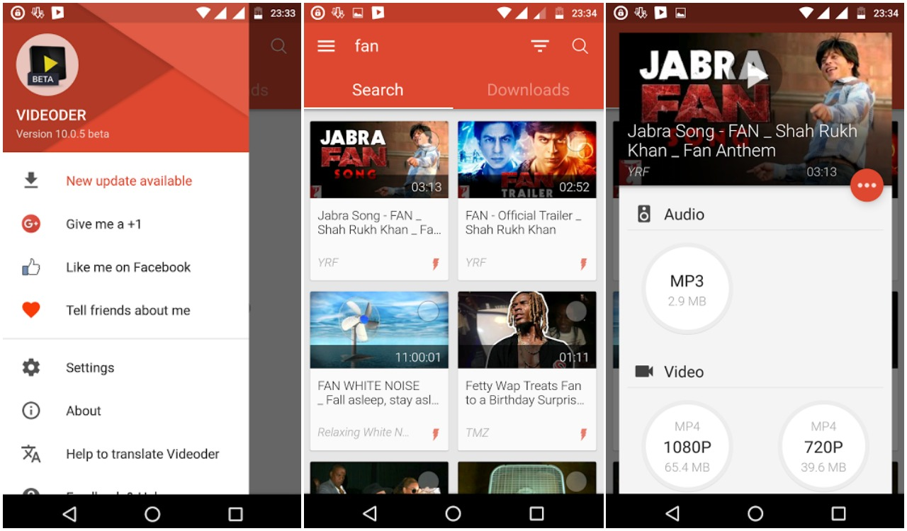 Download music off youtube android