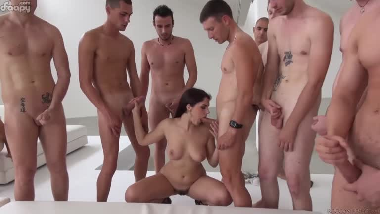 The biggest gangbang ever